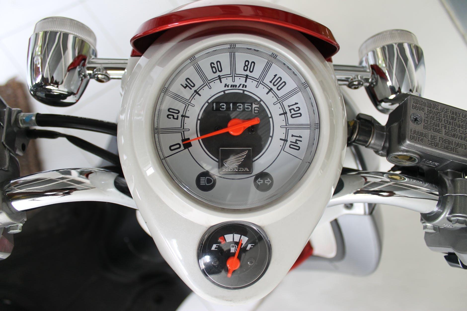 En klassisk hastighetsmätare